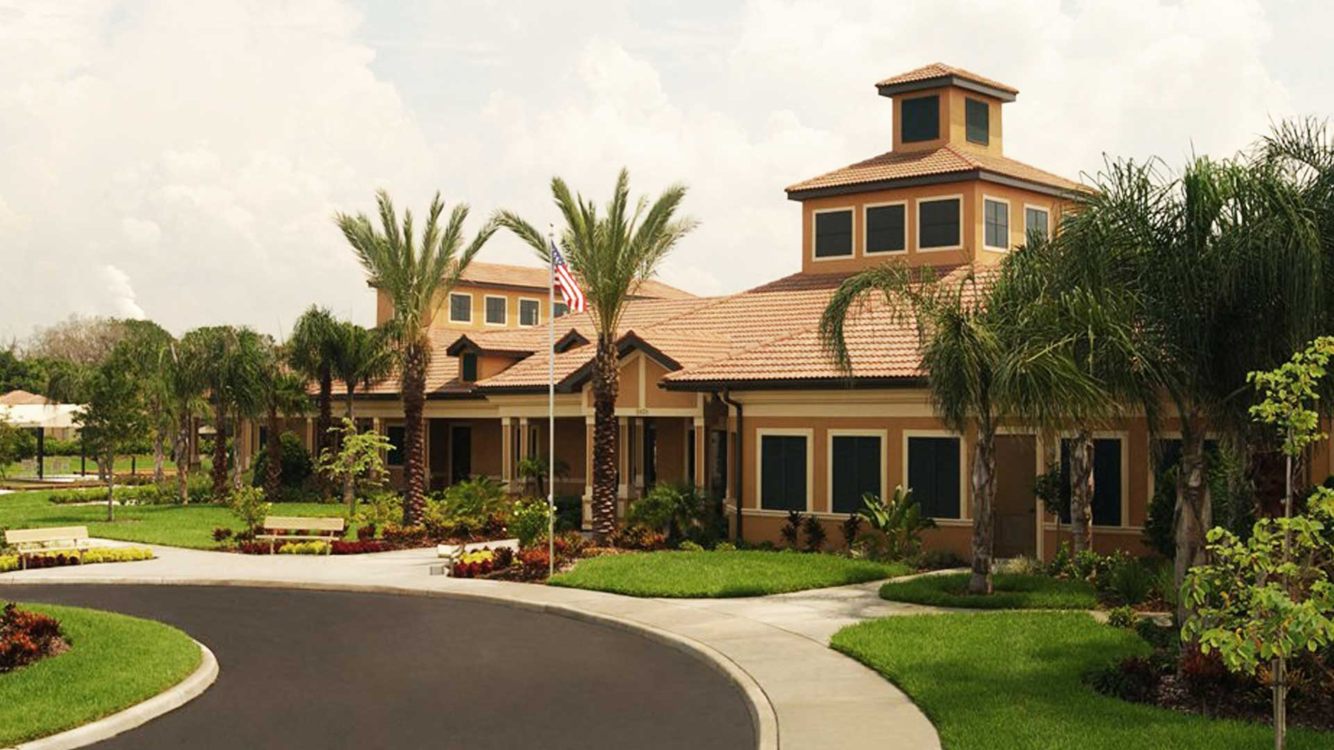 Del Webb Southshore Falls Apollo Beach, FL fitness center.