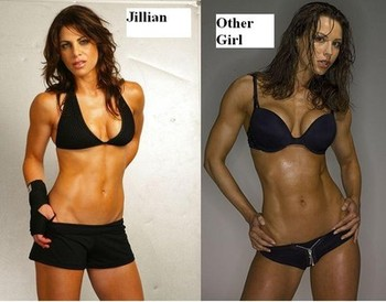 Jillian VS. Other Girl Weight lifting