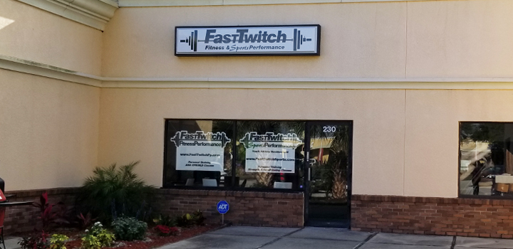 FastTwitch Fitness Performance training studio in Apollo Beach, FL.